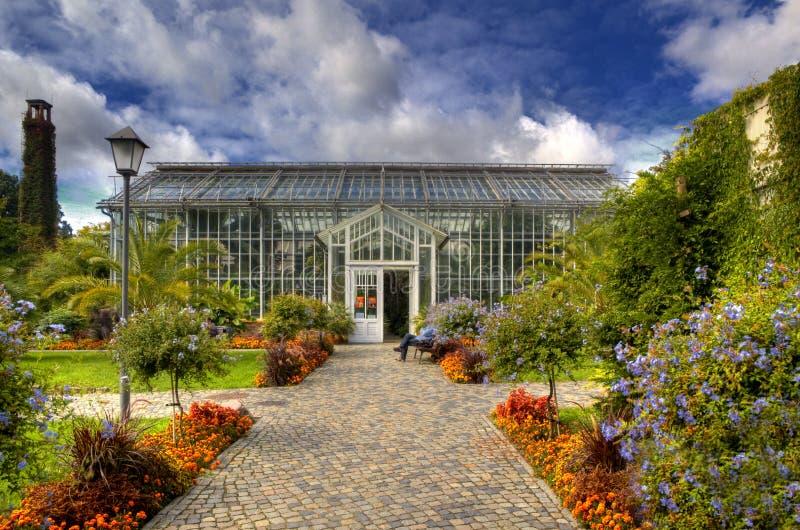 Ботанический сад в парке Sanssouci, Потсдаме стоковые изображения rf