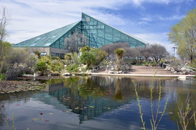 Ботанический сад строя и concervatory стоковая фотография rf