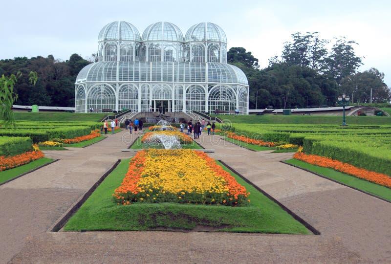 Ботанический сад в Curitiba, Бразилии стоковые фото