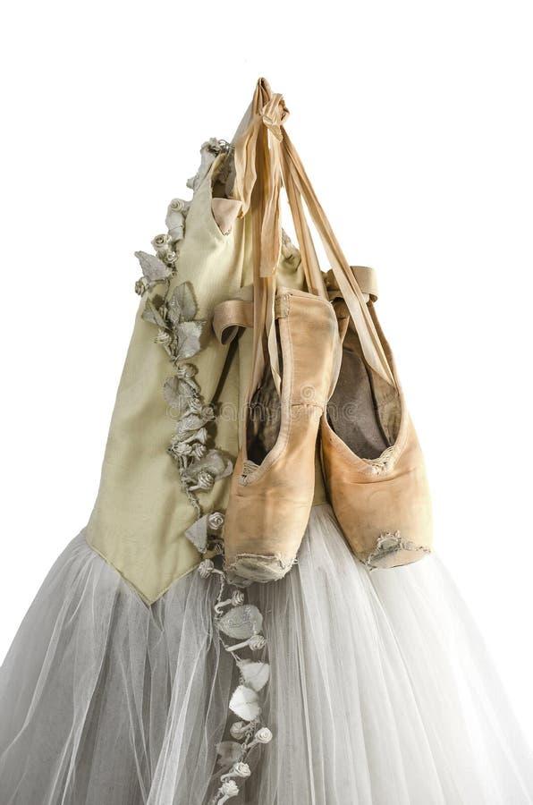 Ботинки балетной пачки и балета стоковое фото
