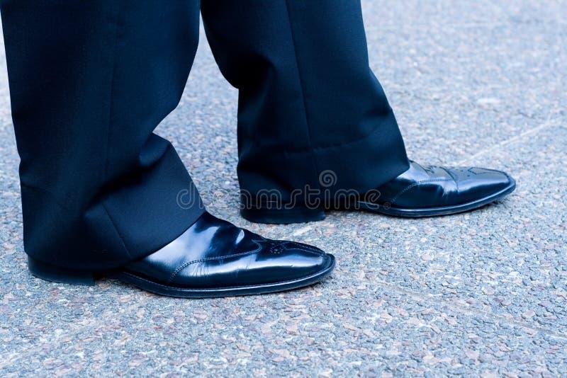 ботинки бизнесмена стоковое фото rf