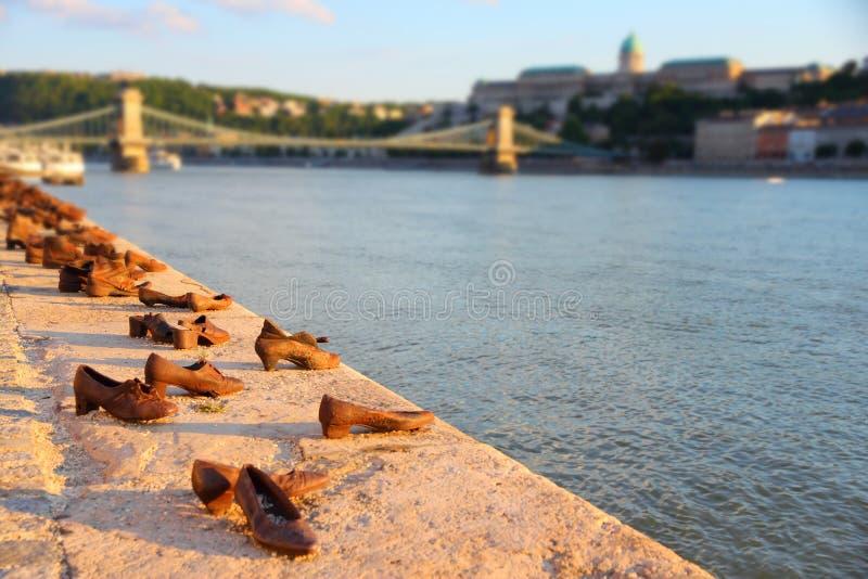 Ботинки Будапешта стоковые фото