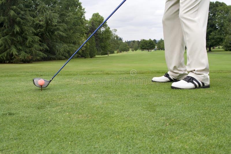 ботинки гольфа стоковые фотографии rf