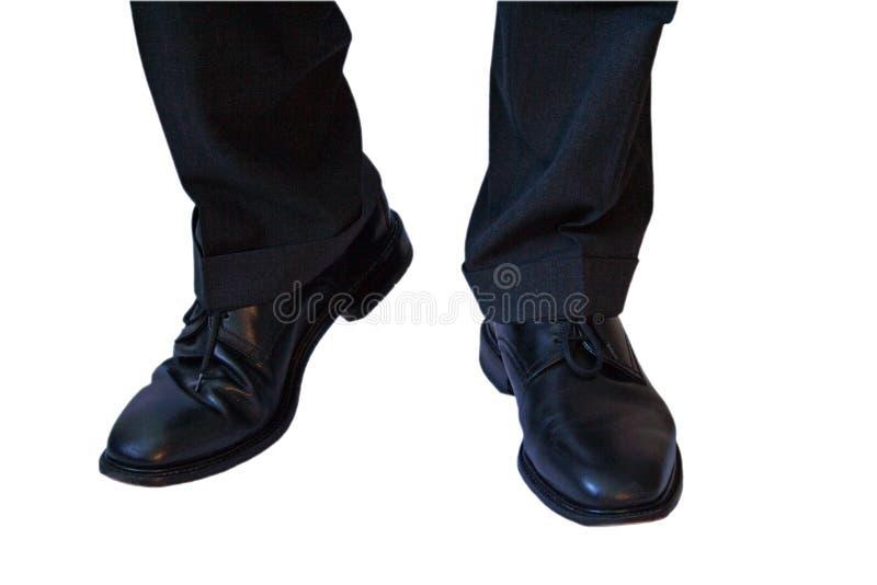 Download ботинки дела стоковое изображение. изображение насчитывающей шагать - 494175