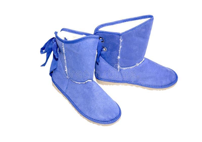 Ботинки зимы стоковое изображение