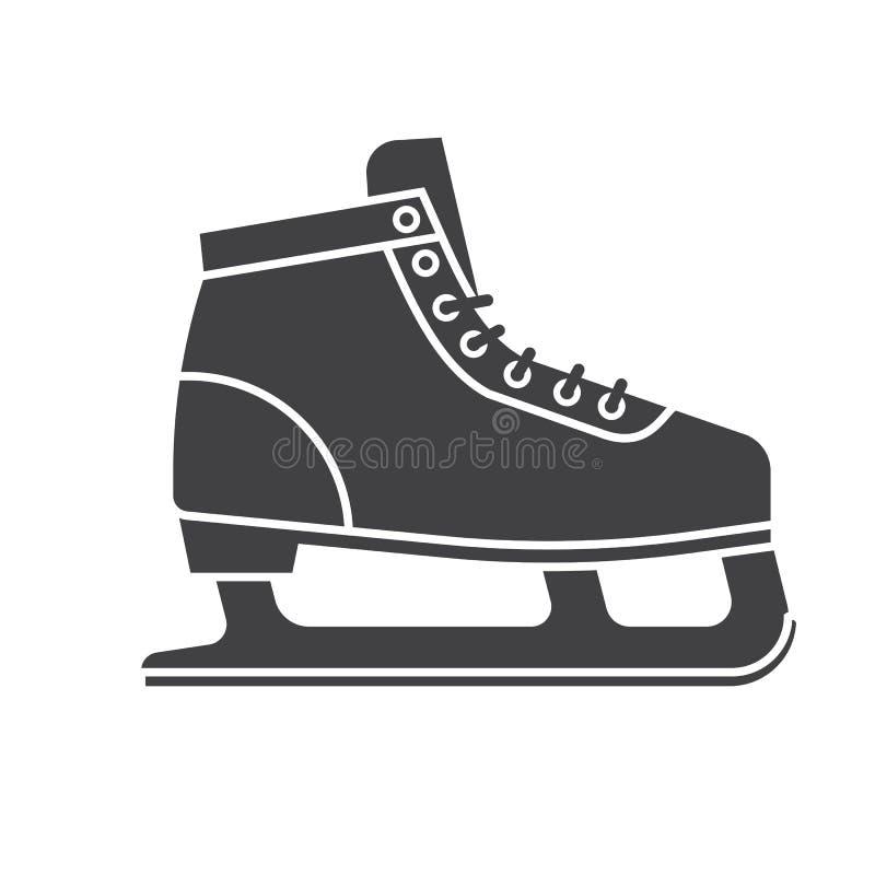 Ботинки катания на коньках бесплатная иллюстрация