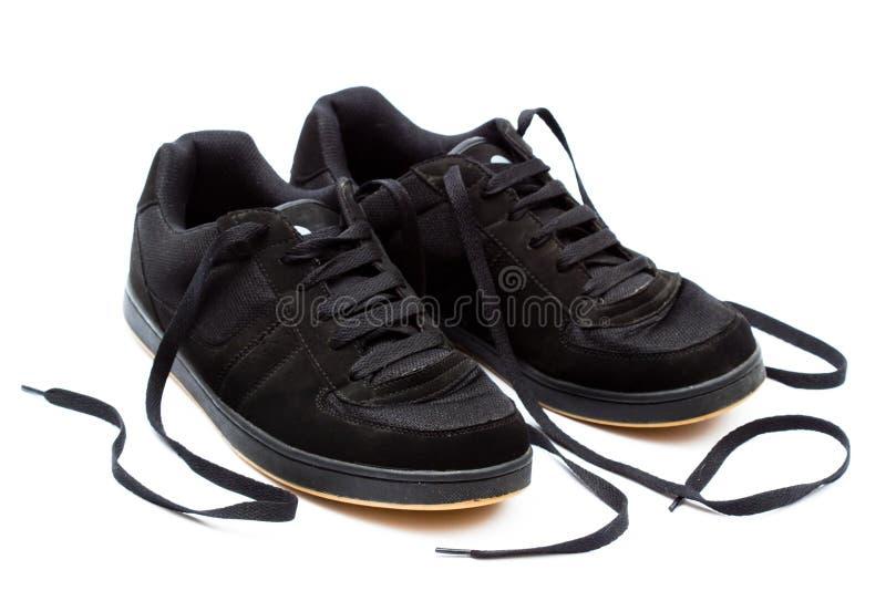 Ботинки конька стоковые фотографии rf