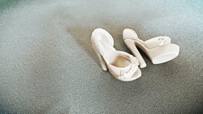 Ботинки куклы стоковое фото