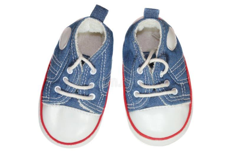 ботинки младенца стоковое фото