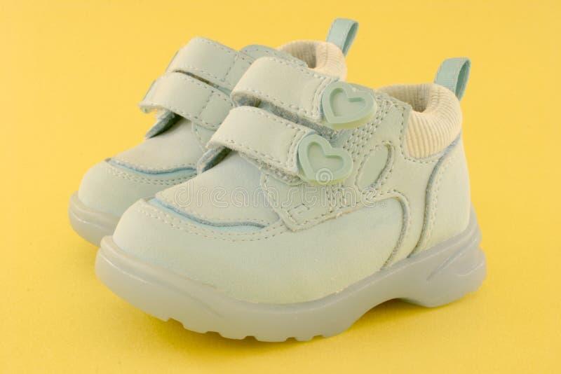 ботинки младенца стоковая фотография rf