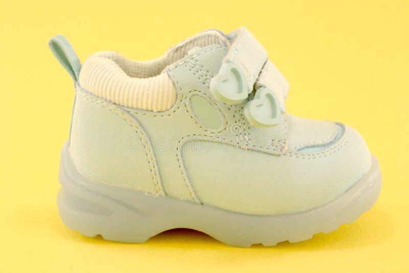 ботинки младенца стоковые изображения rf