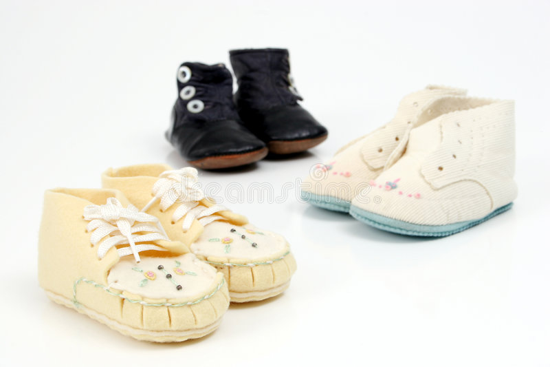 ботинки младенца Ii Стоковые Изображения RF