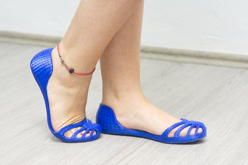 ботинки напечатанные 3D стоковая фотография rf