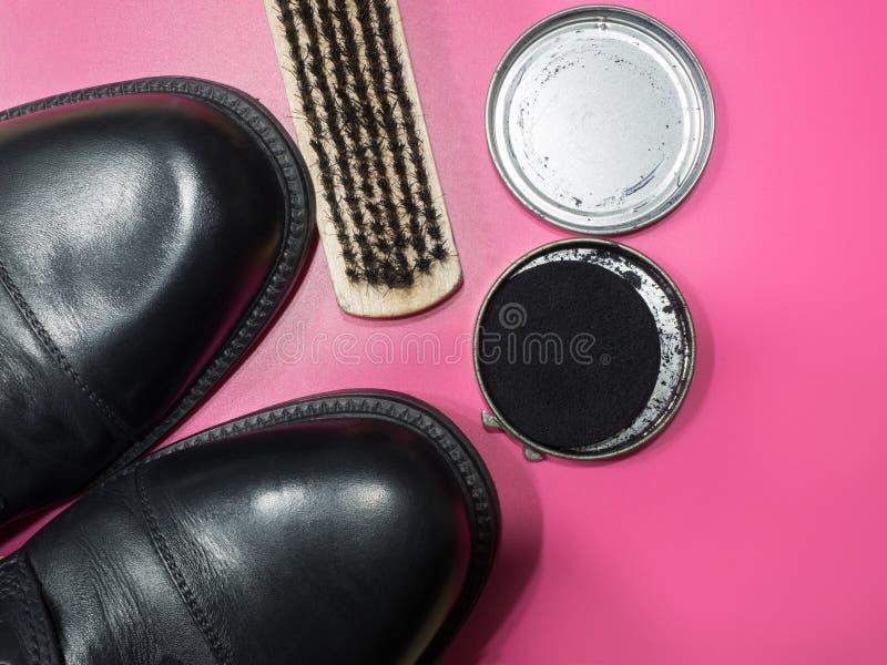 Ботинки посвеченные и готовые стоковое фото rf