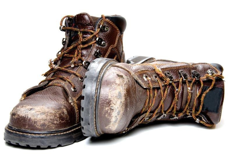 Ботинки работы стоковое фото rf