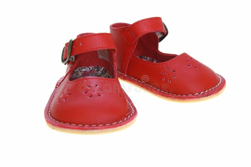ботинки ребенка s стоковые фото
