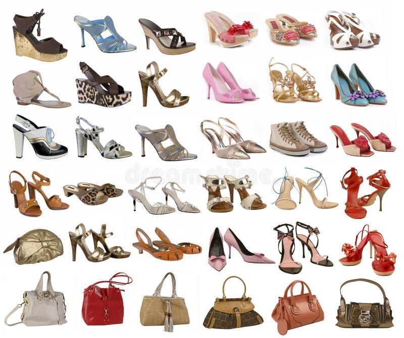ботинки собрания стоковая фотография rf