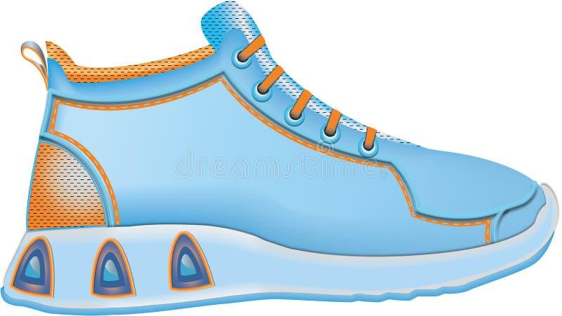 Ботинки спорта иллюстрация вектора