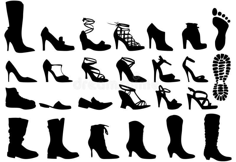 ботинки иллюстрация штока