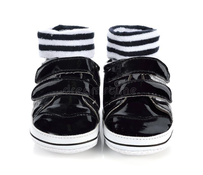 Ботинки ` s детей стоковая фотография