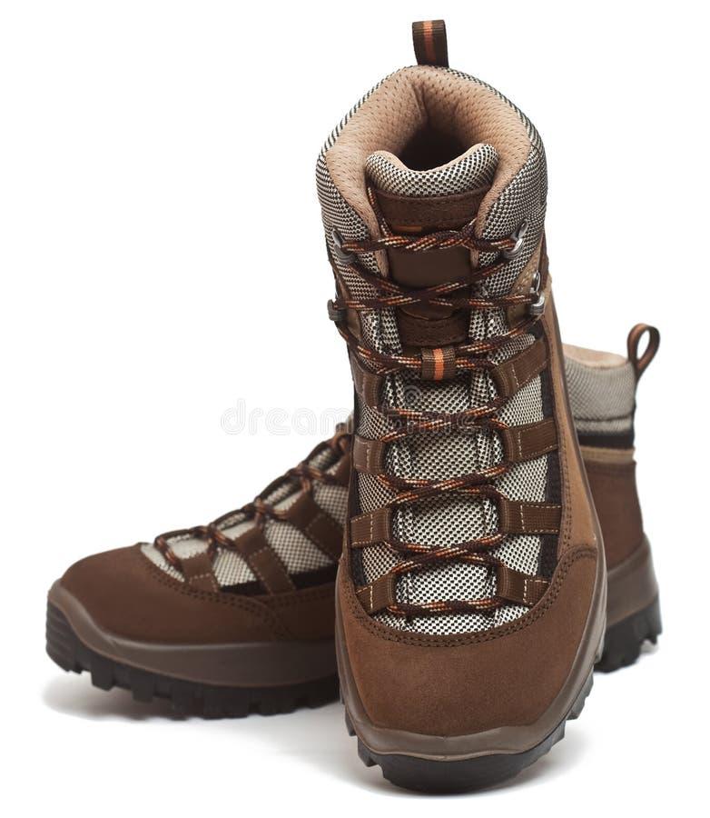 ботинки trekking стоковые изображения rf