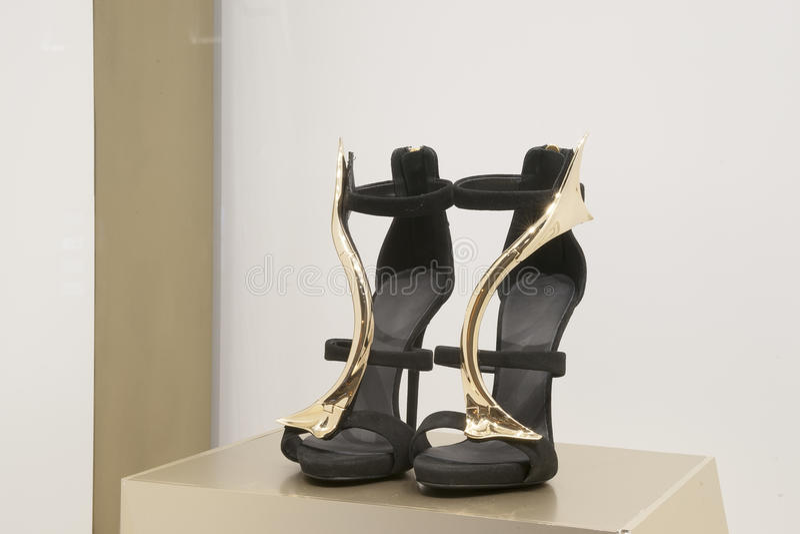 Ботинок моды стоковая фотография rf