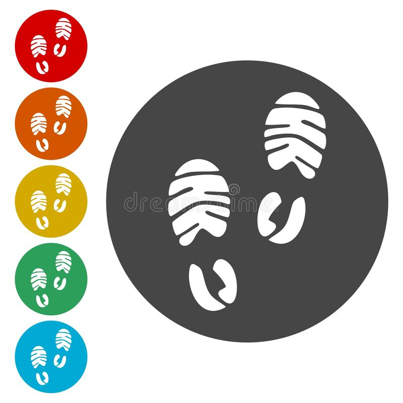 Ботинок спорта следа ноги бесплатная иллюстрация