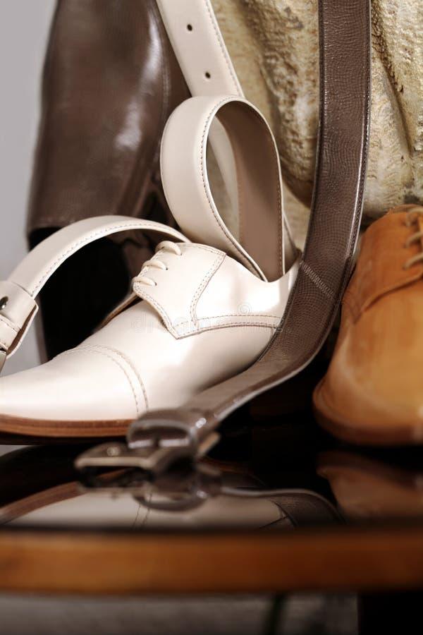 ботинок человека стоковые фотографии rf