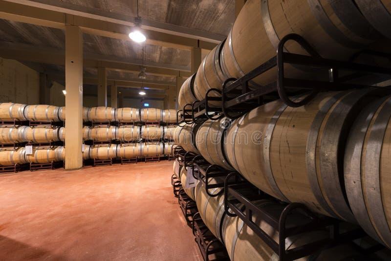 Бочонки вина стоковые изображения
