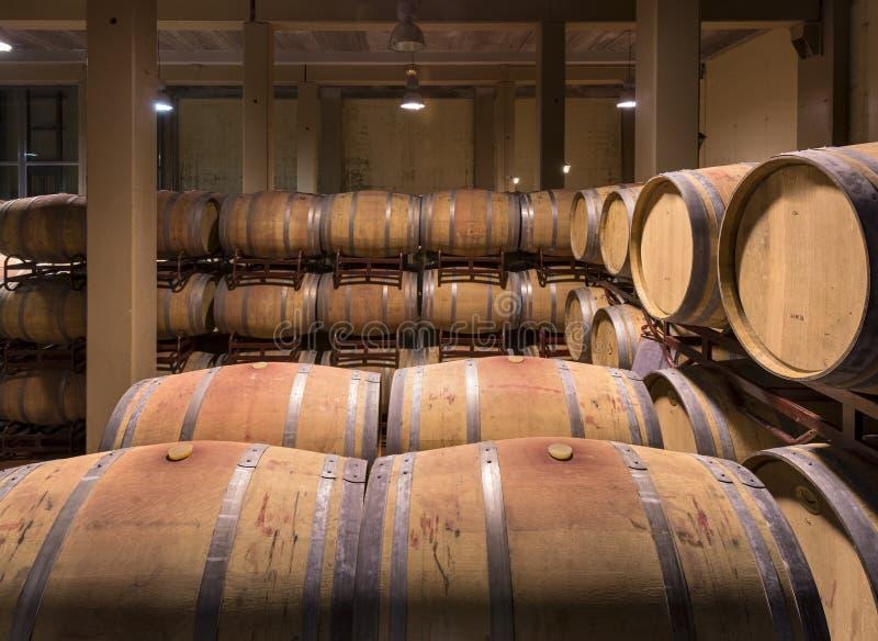 Бочонки вина стоковое изображение