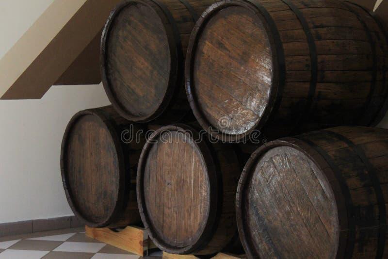 Бочонок вина стоковая фотография rf
