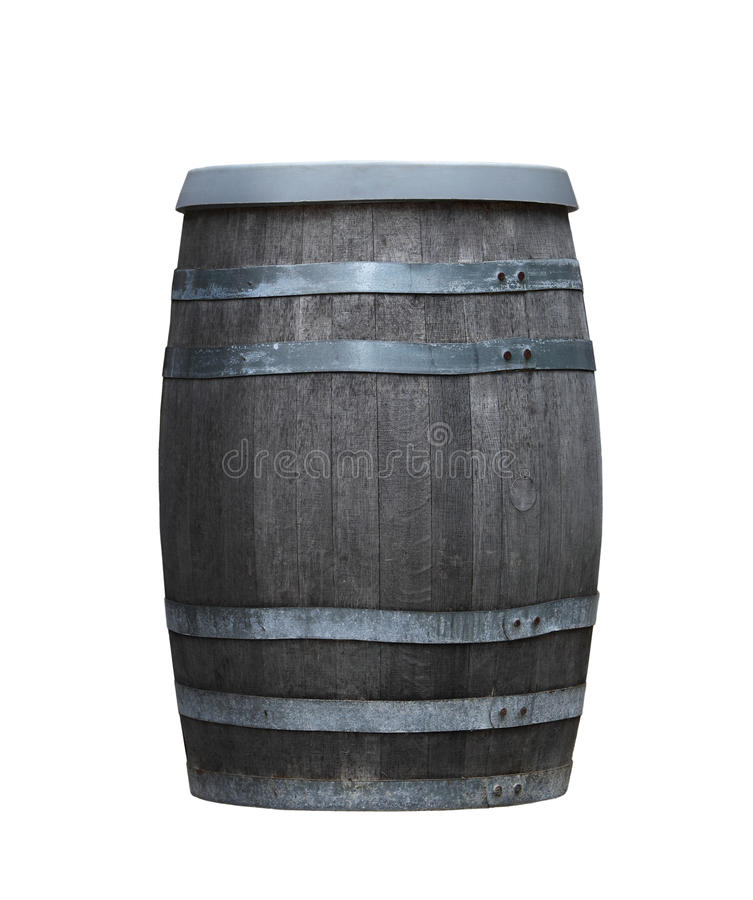 бочонок деревянный стоковая фотография rf