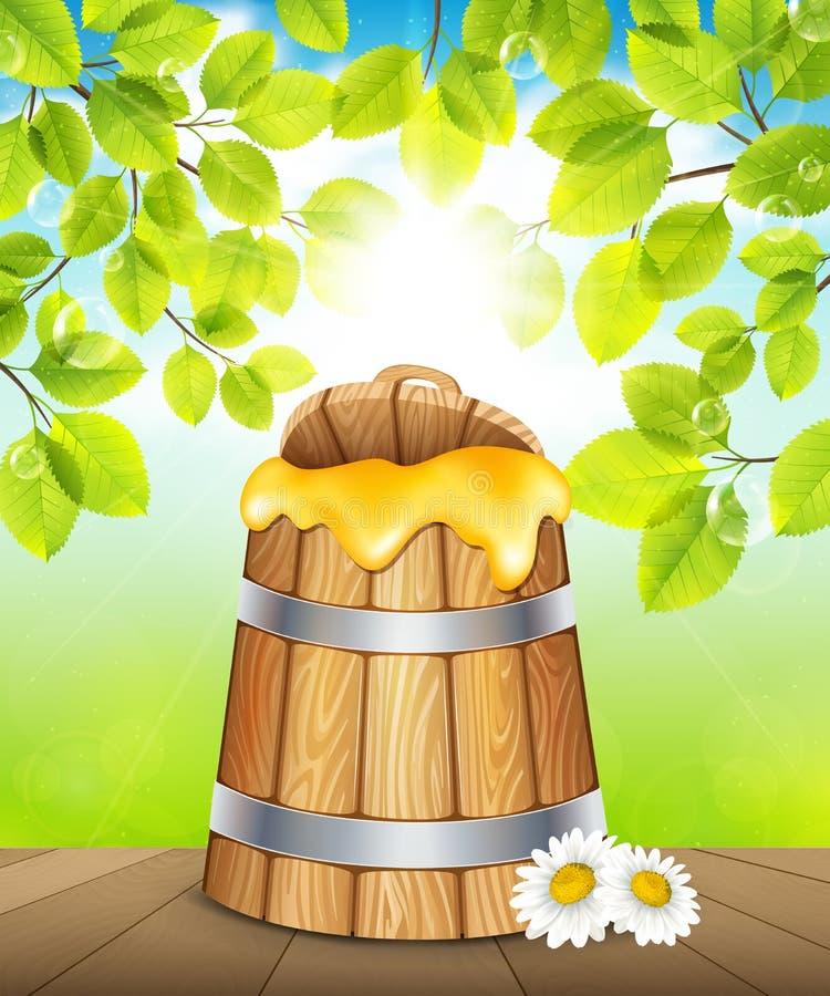 Картинки детские бочка с медом