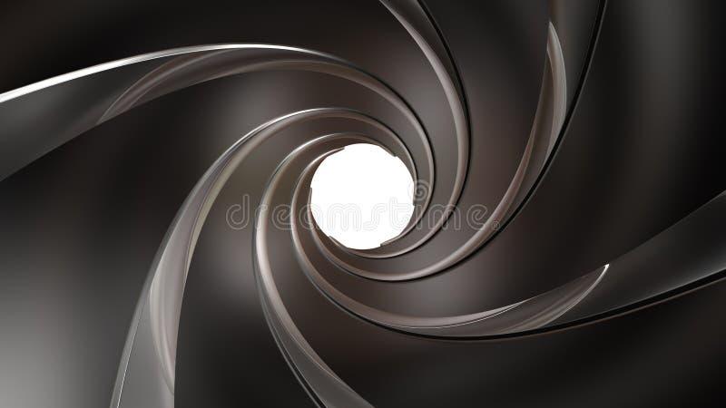 Бочонок оружия иллюстрация вектора