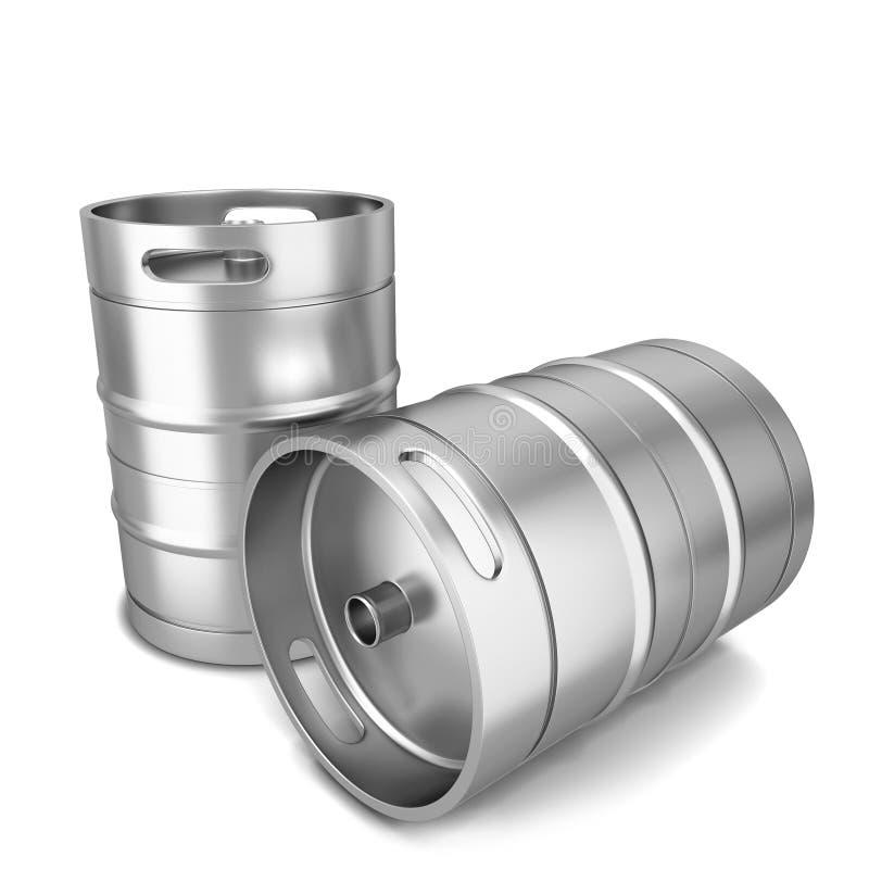 Бочонок пива иллюстрация вектора