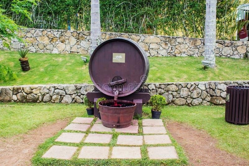 Бочонок фонтана стоковое изображение