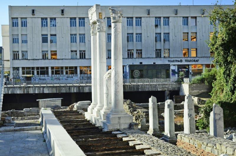 Болгария, Пловдив стоковые фотографии rf