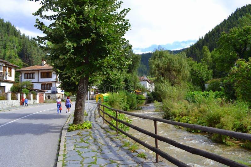 болгарский горный вид стоковая фотография rf