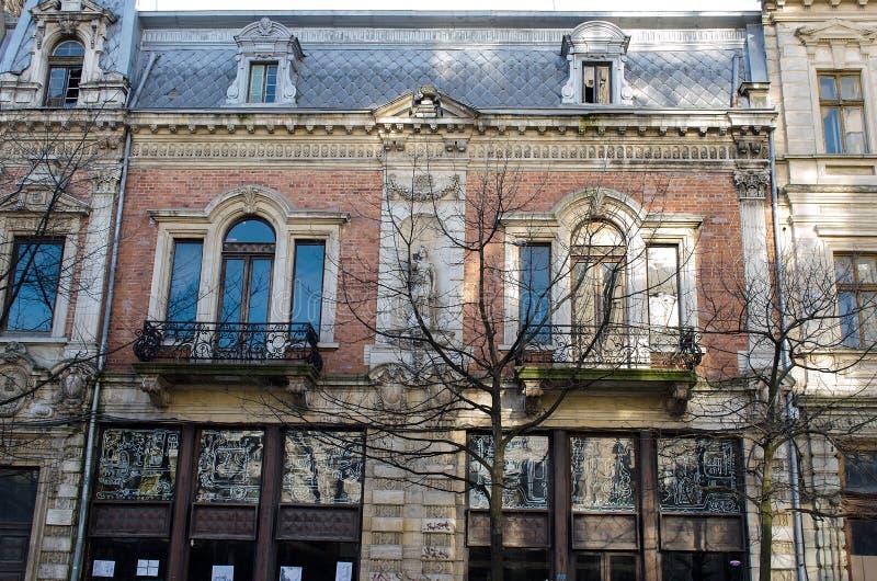 Болгарский стиль архитектуры стоковые фото