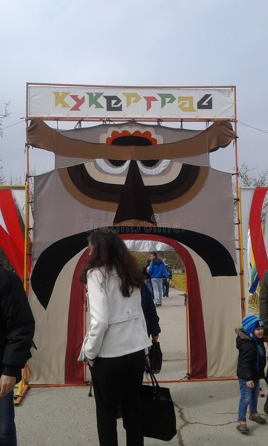 Болгарское kukerland стоковая фотография rf