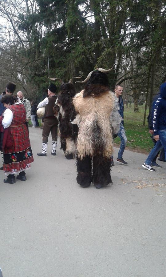 Болгарское kukerland стоковое изображение