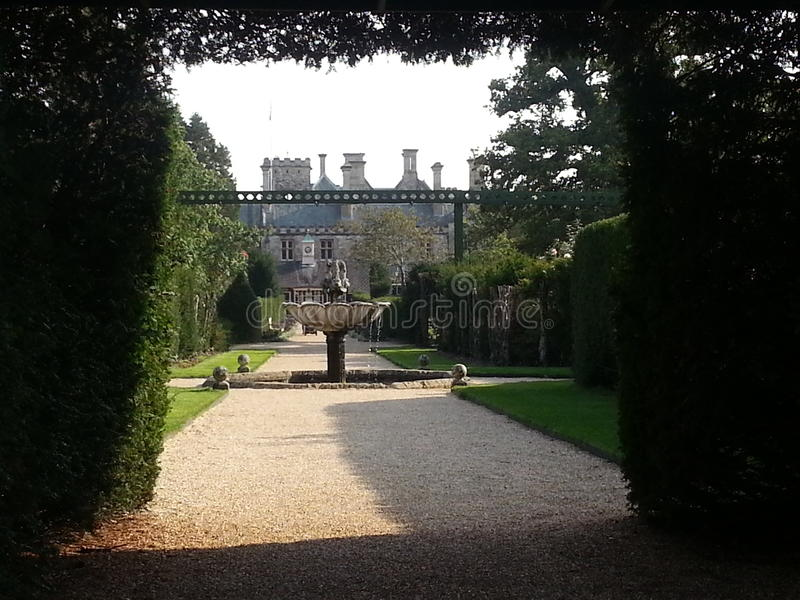 Более тщательное рассмотрение на дворце стоковые фотографии rf