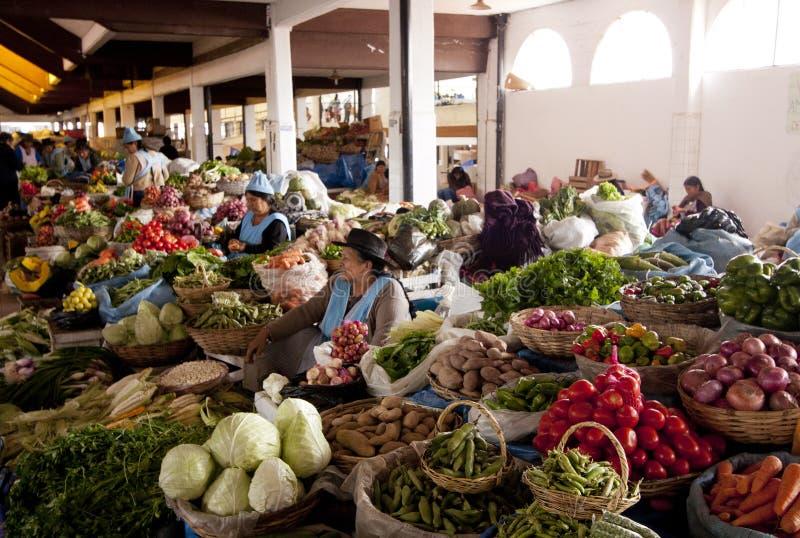 Боливийский рынок стоковая фотография rf