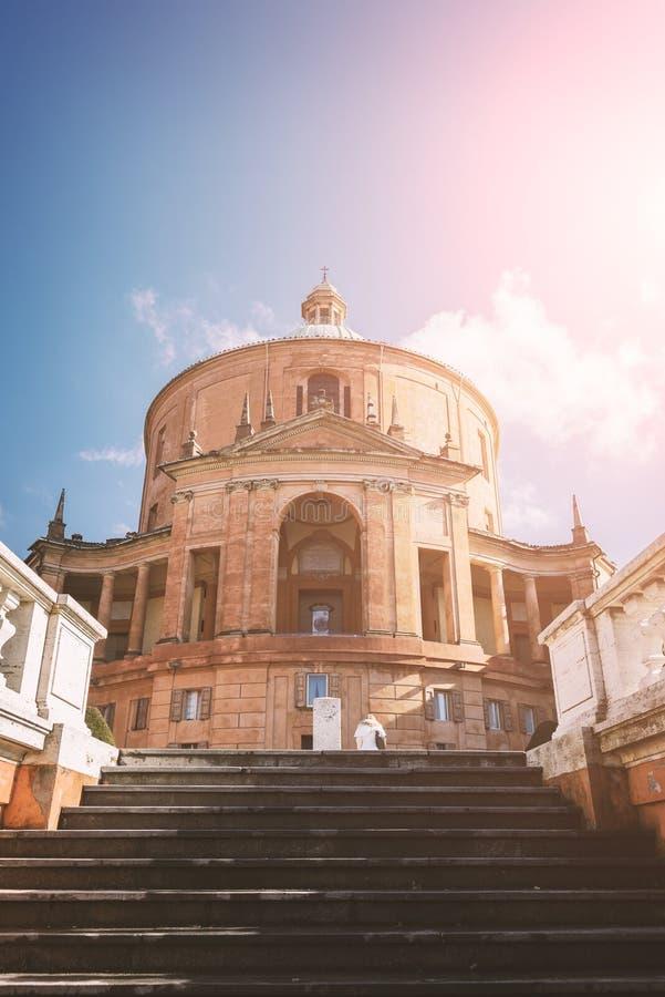 Болонья San Luca базилики стоковые изображения