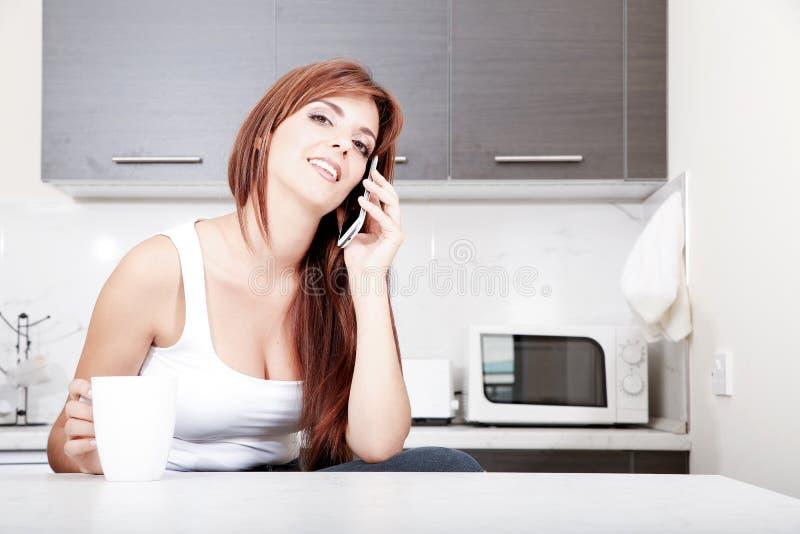 Download Болтливый в кухне стоковое фото. изображение насчитывающей adulteration - 40584780
