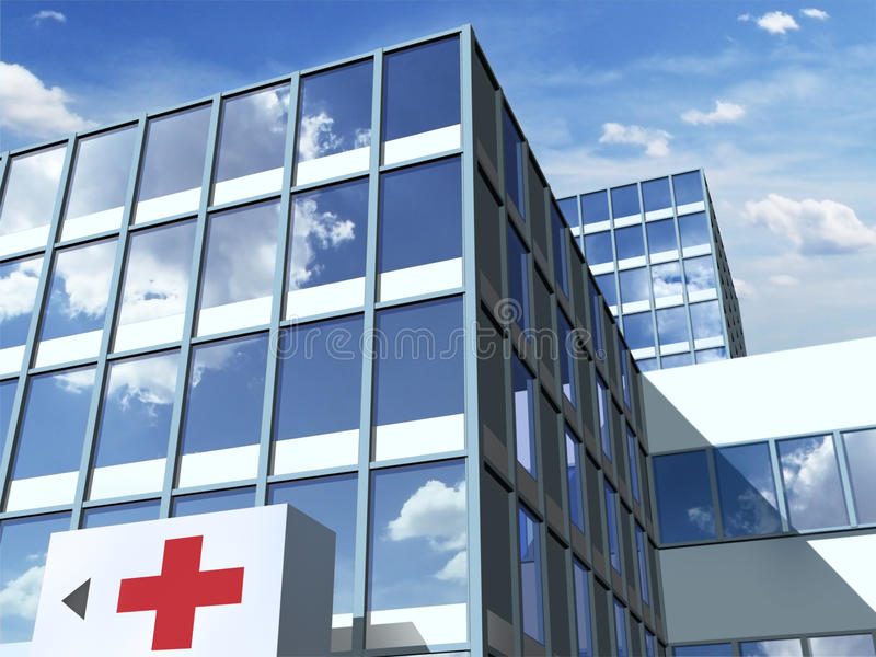 Больница стоковое изображение