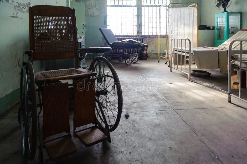 Больница Alcatraz стоковые фото