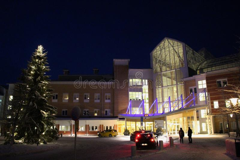 Больница Sunderby стоковое фото rf