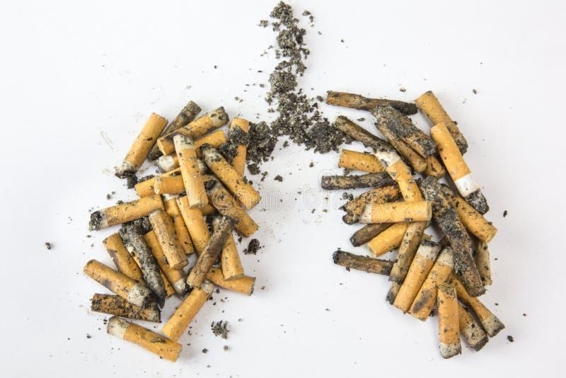 больной сигареты убивает дым человека стоковое изображение rf