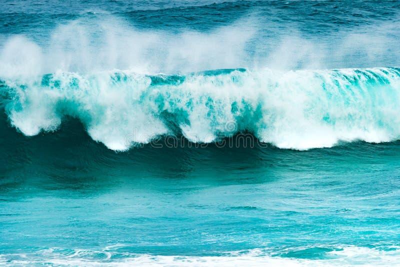 Большая волна Индийского океана стоковое изображение rf